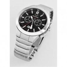 Pánské nerezové chronograf hodinky MEORIS G042SS-1