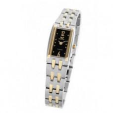 Dámské titanové analogové hodinky MEORIS L047Ti - tmavé, zlacené