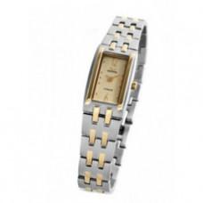 Dámské titanové analogové hodinky MEORIS L047Ti - světlé, zlacené