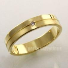 Snubní prsten s briliantem 928BR