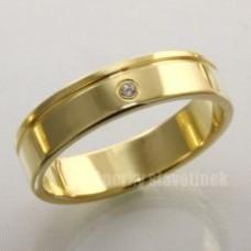 Snubní prsten s briliantem 930BR
