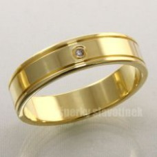Snubní prsten s briliantem 931BR