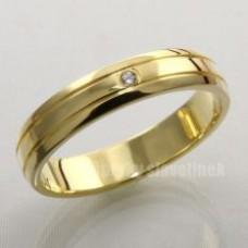 Snubní prsten s briliantem 932BR