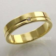 Snubní prsten s briliantem 937BR