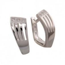 Stříbrné naušnice 6007AG