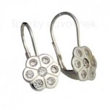 Stříbrné naušnice 6030KAG