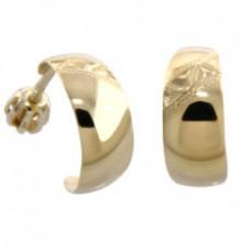 Zlaté náušnice 75