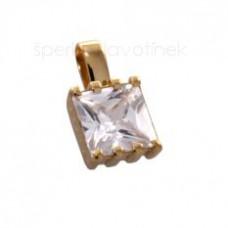 Přívěsek ze žlutého nebo z bílého zlata 6009P