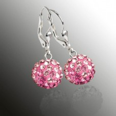 Náušnice Swarovski Elements 31109,3 ROSE